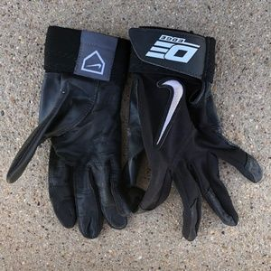 Nike Diamond Elite Edge II Batting Gloves sz MD
